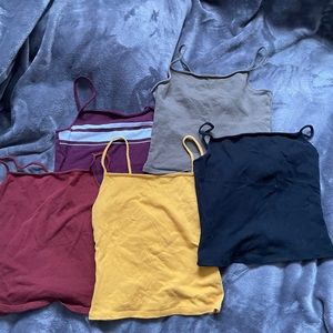 5 garage tank tops selling all together